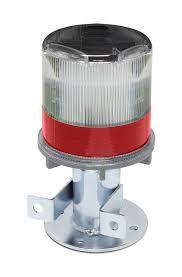 solar powered led strobe lights 3337 00001 tapco traffic