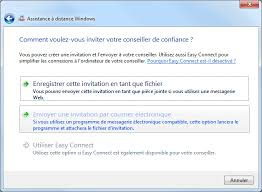 bureau à distance windows 7 assistance à distance windows aidewindows