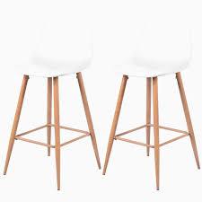 chaise nouveau tabouret metal bois nouveau chaise de bar blanche chaise de