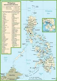 Luzon Map Philippines Political Map