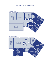 barclay center floor plan barclay house university housing george fox university