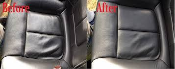 Vehicle Leather Upholstery How To Clean Leather Car Seats Easy No Tools Required