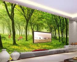 3d murals online shop beibehang custom wallpaper home decorative mural trees