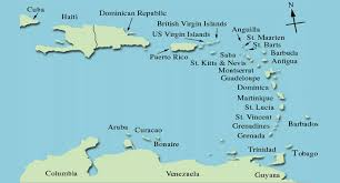 map of the islands caribbean crews productions islands map