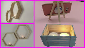 5 super easy popsicle stick craft ideas home decor ideas 5