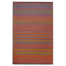 Multi Color Rug Prater Mills Indoor Outdoor Reversible Striped Multicolor Area