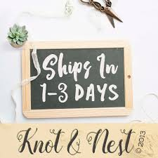 creating personalized gifts and guest books on burlap by knotnnest