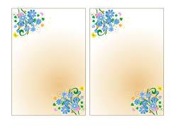 card foldable birthday card template