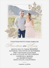 wedding invitations with photos photo wedding invitations picture wedding invitations