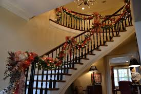 staircase garland decorating ideas u2013 decoration image idea