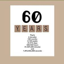 60 things for 60th birthday 60 things we about you milestone birthdays birthdays and gift