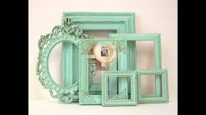 creative shabby chic photo frames youtube