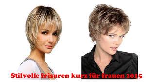 Kurze Haarfrisuren Damen by Stilvolle Frisuren Kurz Für Frauen 2015