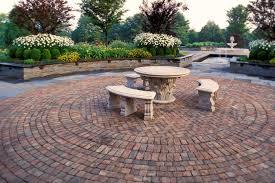 Patio Floor Design Ideas Backyard Floor Design In Decors Exterior Exterior Patio Area Brick
