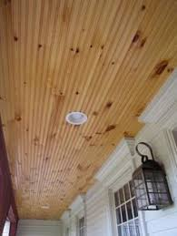 White Beadboard Ceiling by Sunroom Knotty Pine The Ceiling Looks Good With White
