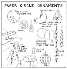 how to make paper circle ornaments for crafts