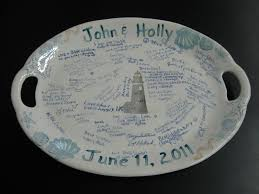 wedding platter guest book platters