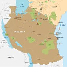 Burundi Africa Map by Safaris Northern Parks Tanzania In Lodges Tented Lodges And