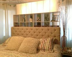 tufted headboard with wood trim bedroom decorative diy tufted headboard with wings and nailhead