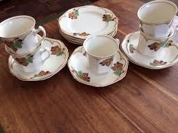 vintage tea set fenton china vintage tea set vine pattern 15 1919 1942