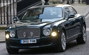 bentley 2017 mulsanne bentley used by the queen still up for grabs