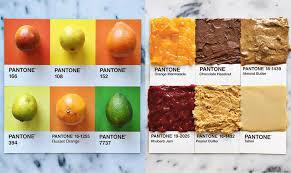 pantone food u2013 turning colorful ingredients into appetizing