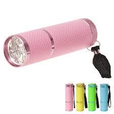 mini led nail dryer uv led curing lamp flashlight torch for uv gel