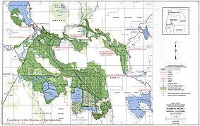 Clear Maps History Klamath Project Map 1998