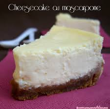 comment cuisiner le mascarpone cheesecake au mascarpone