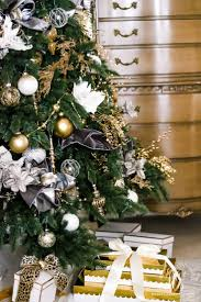 White Christmas Tree With Gold Decorations 120 Best Realistic Christmas Trees Images On Pinterest Balsam