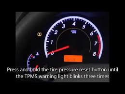 why is my tire pressure light still on reset 2007 10 toyota camry tire pressure monitoring system tpms