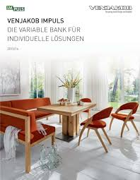 Esszimmerm El Bank Venjakob Impuls Bench By Tr Hayes Issuu