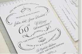 60th wedding anniversary invitations popular collection of 60th wedding anniversary invitations to