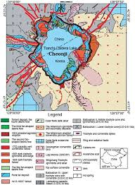 Yellowstone Eruption Map Pyroclastic Density Current Hazards At The Baekdusan Volcano