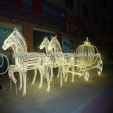 horse christmas outdoor lighted decorations buy horse christmas