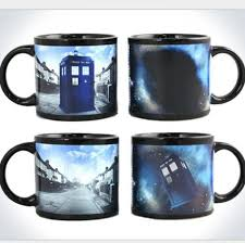doctorwho color changing mugs sensitive magical coffee cups anime
