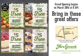 mrs green s market pre grand opening greenisgood