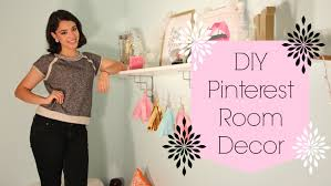 Pinterest Bedroom Decor Diy by Easy D I Y Pinterest Room Decor Bigapplebeauty Youtube