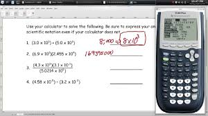 scientific notation worksheet 3 episode 103 page 1 18 youtube