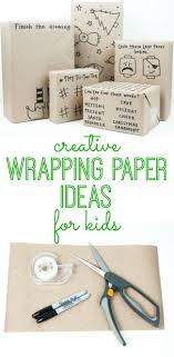 unique christmas wrapping paper creative wrapping paper ideas for kids my and kids