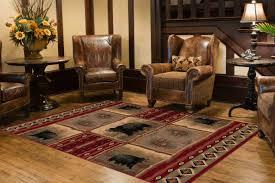 10 rustic area rug ideas