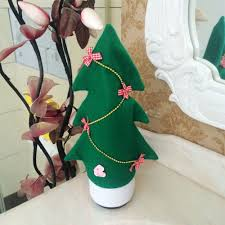 Green Decorations For Home Aliexpress Com Buy 10 Pcs Lot Christmas Tree Holiday Wine