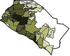 california map population density orange county california
