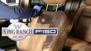 Classic Ford Truck Seat Covers - best way to restore king ranch ford truck seats youtube