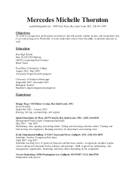 Long Term Substitute Resume Mercedes Resume May5 16