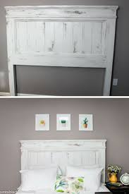 Homemade Headboard Ideas by Best 25 Painted Headboards Ideas On Pinterest Paint Headboard