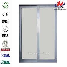 fiberglass sliding glass doors china new design fiberglass partition wall door manufacturers