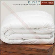 All Seasons Duvet Double 100 Silk Duvet Ebay