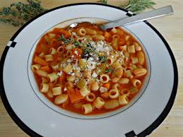 easy pasta e fagioli soup food network healthy eats recipes