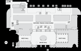 Union Station Floor Plan Usrc Map